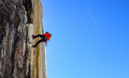 Ice Climbing with Outdoor Skills and Thrills