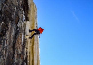 Rock and Ice Climbing with Outdoor Skills and Thrills