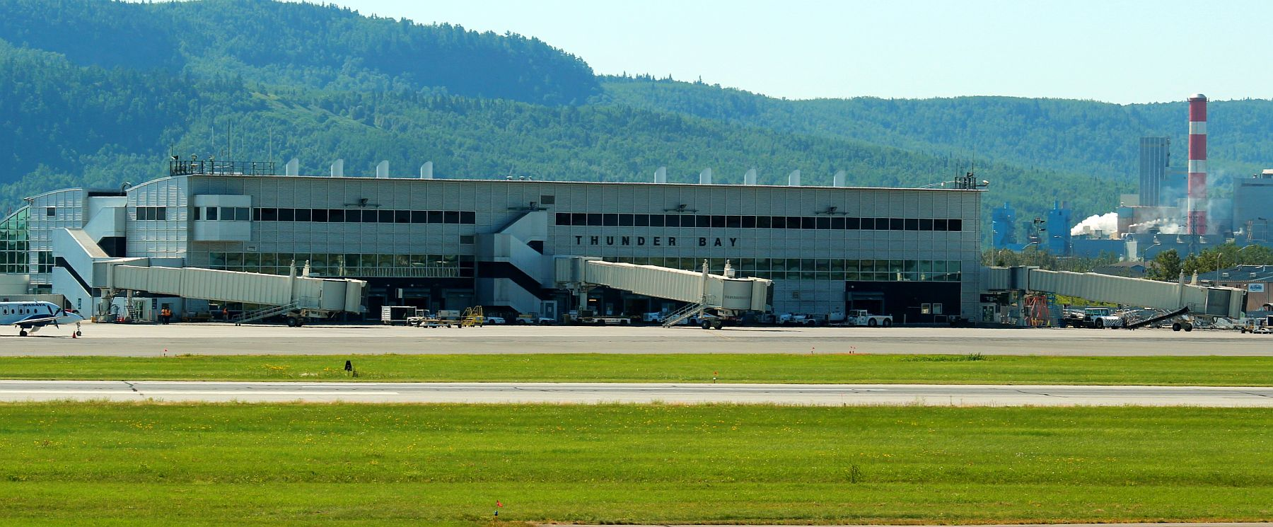 The Thunder Bay International Airport