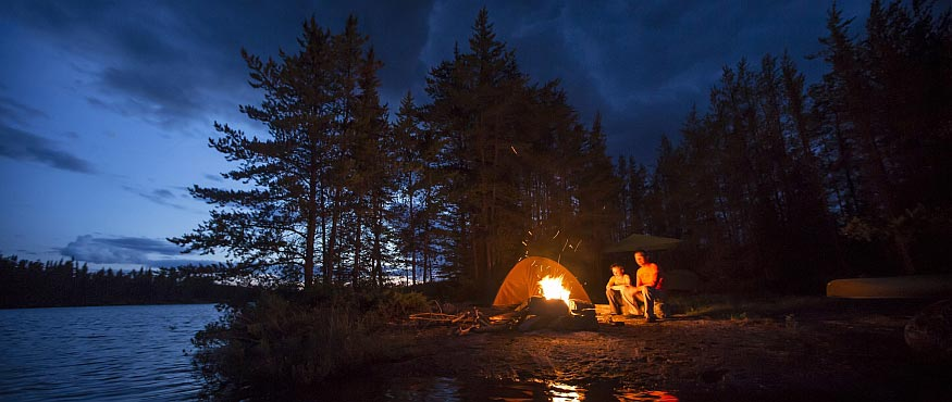Camping near Thunder Bay
